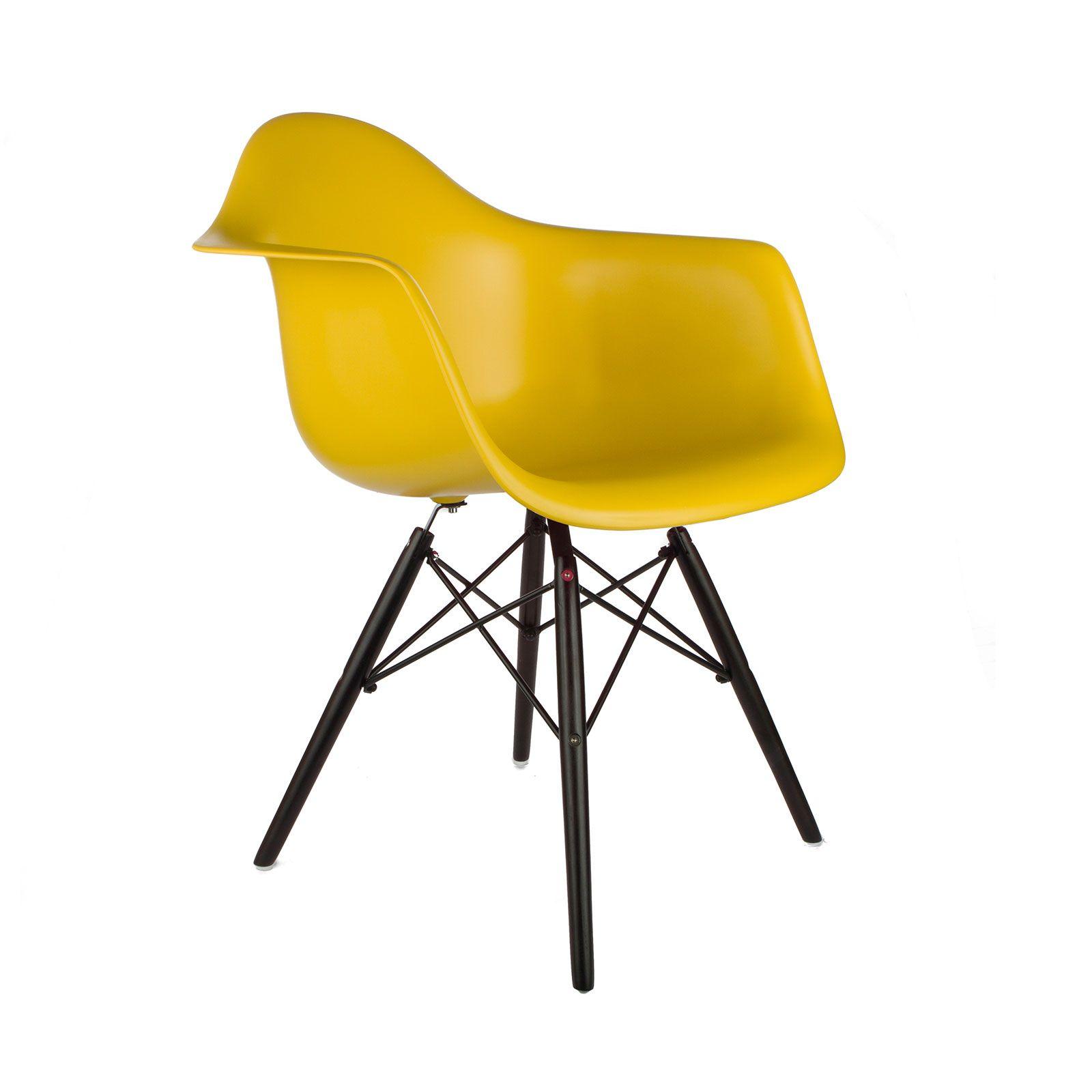 Noir Arm Chair in Mustard | dotandbo.com