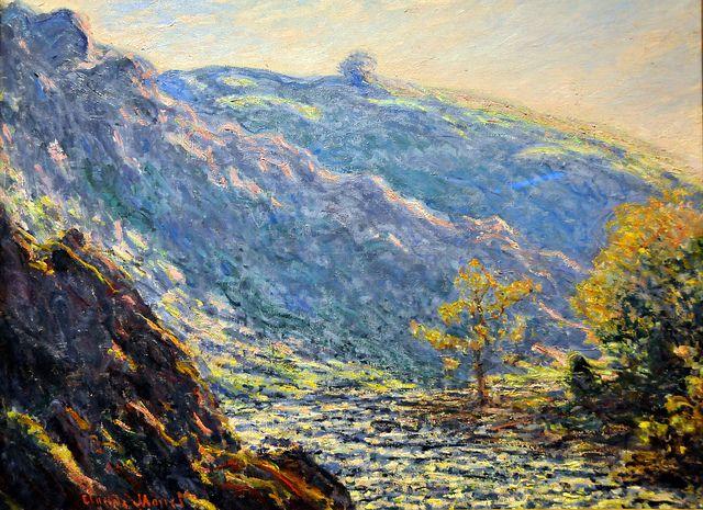 Claude Monet - Ravine of the Petite Creuse