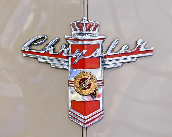 1948 Chrysler Town And Country Sedan Emblem With Images