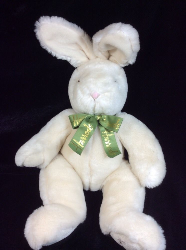 Perfect Harrods Bunny Rabbit Beige Soft Toy Plush Stuffed 17 Design