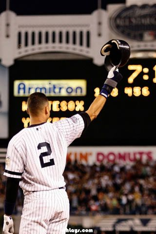 Derek Jeter Iphone Wallpaper Derek Jeter Themes