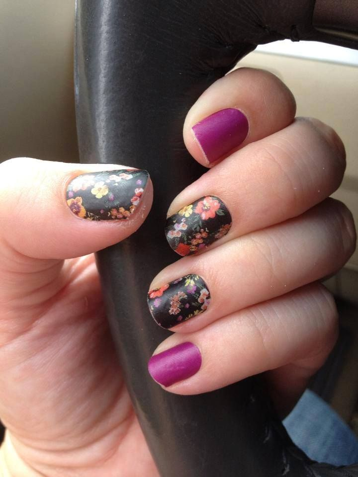 Matte Jamberry Nails- Reminisce & Haute Pink Order yours here: http ...