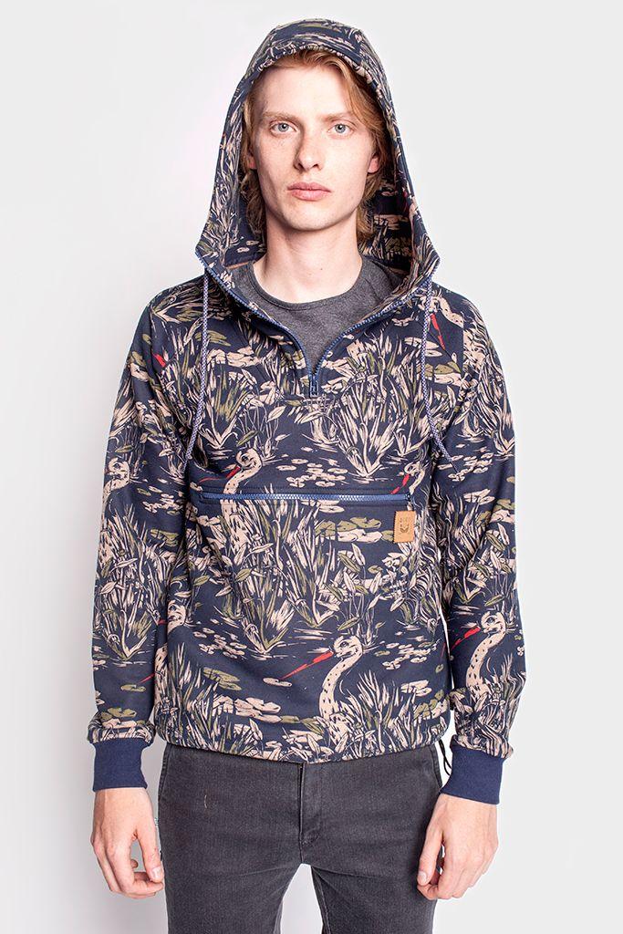 Bluza Bociany Fashion Mens Fashion Athletic Jacket