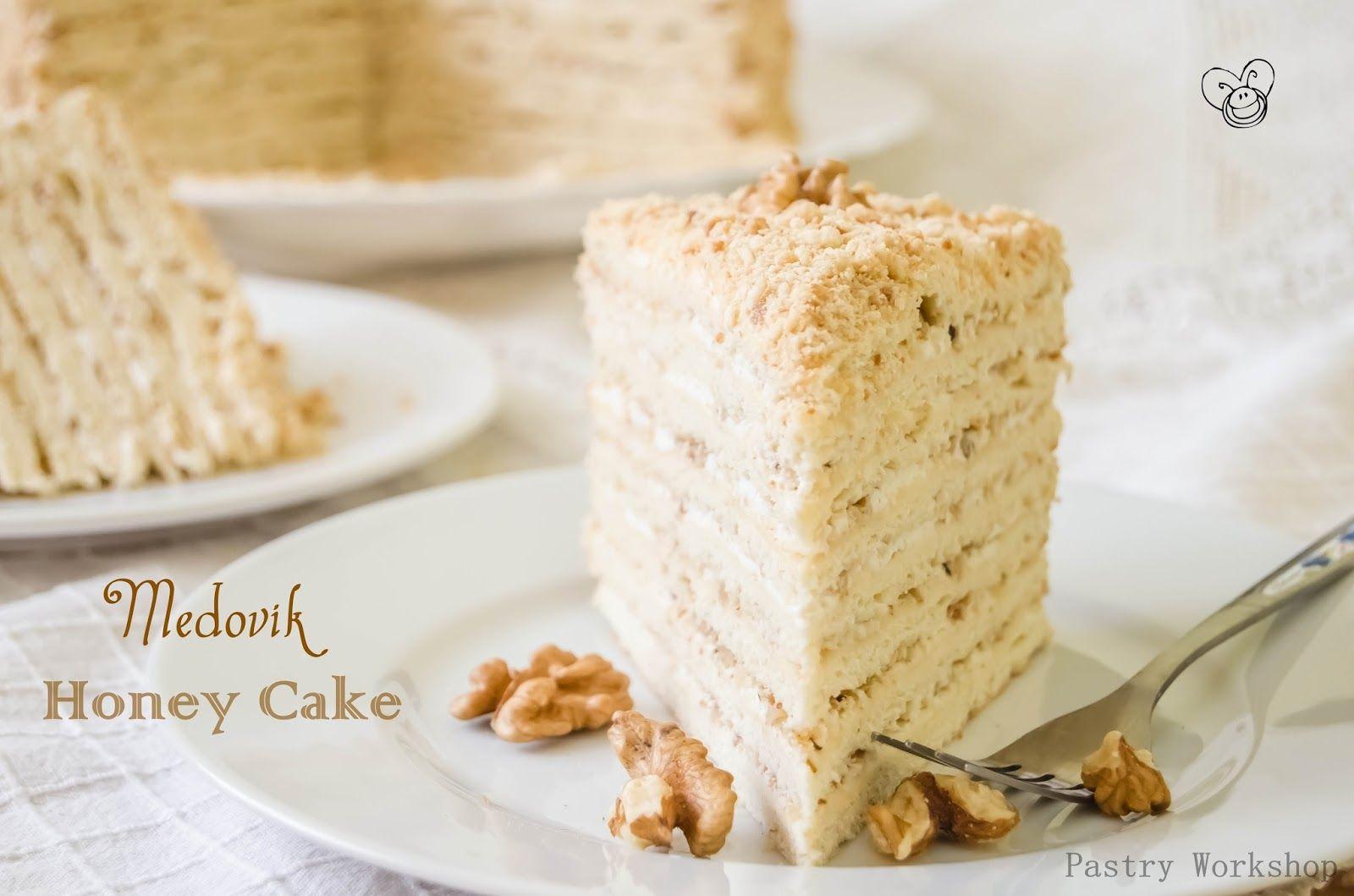 Medovik Cake - Honey Cake