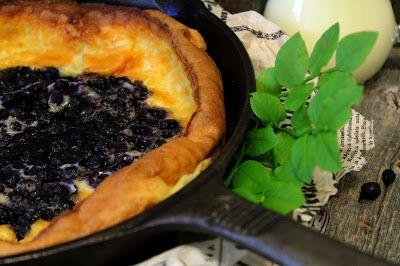 Kakkuviikarin vispailuja!: Mustikkainen clafoutis