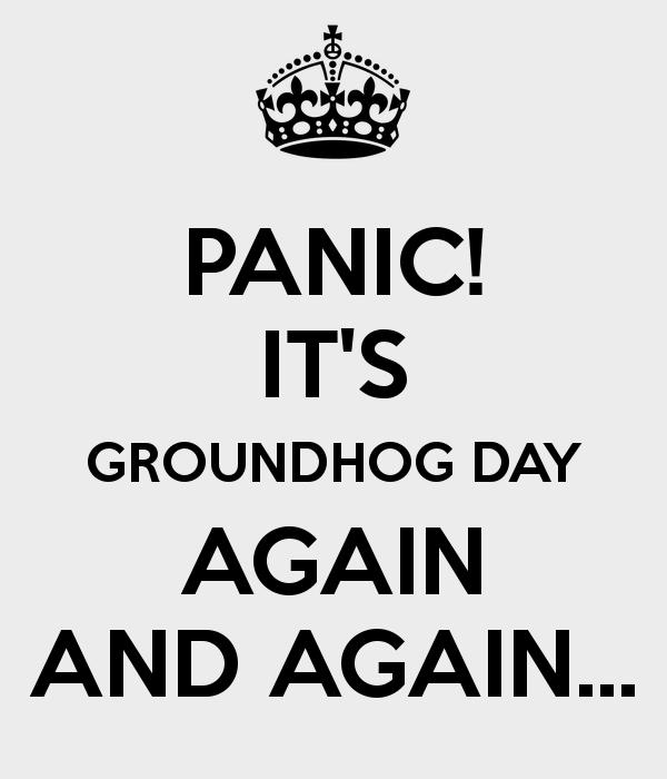Keep Calm it's groundhog day #groundhog_day #keep_calm