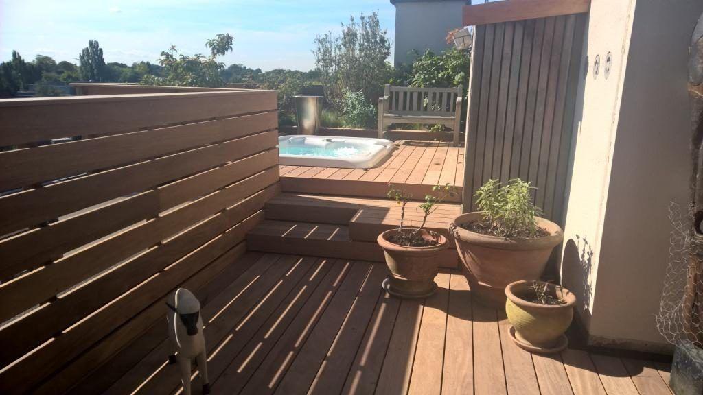 Projet du0027un spa Hotspring Jetsetter avec terrasse dans un Penthouse