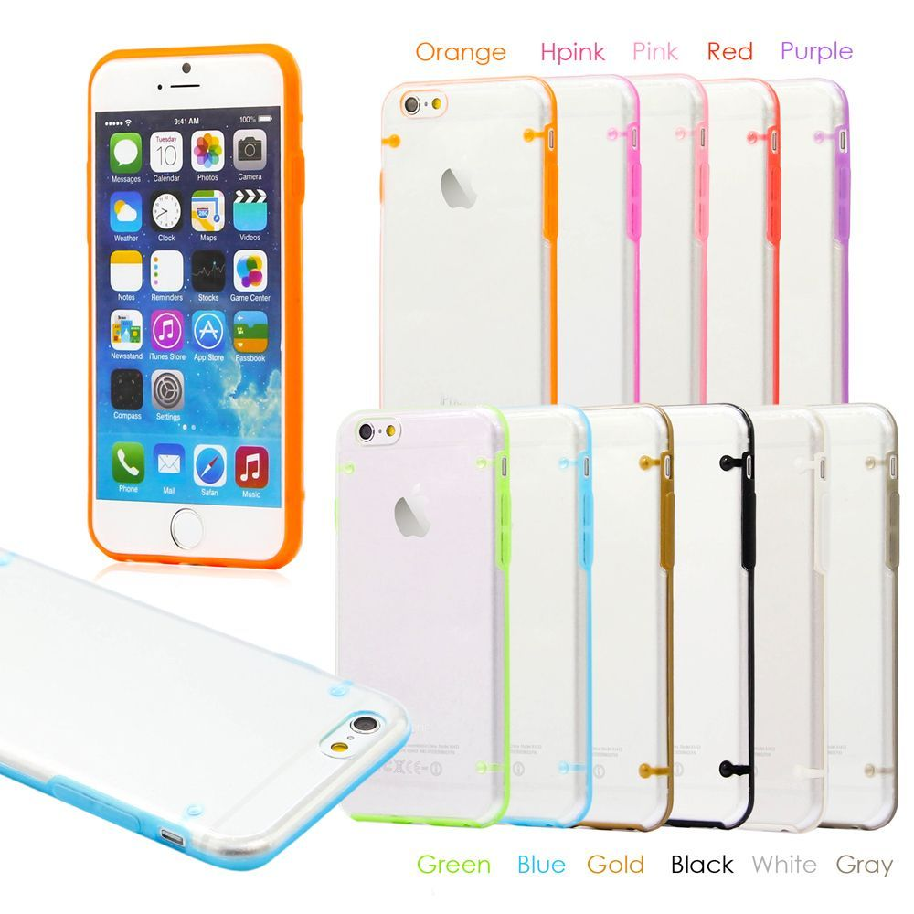 Gearonic Ultra Thin Glow In The Dark Case Cover For Apple Iphone 6 Shining Crystal Clear Samsung Galaxy S6 Overstock Shopping Big Discounts On Cases Holders