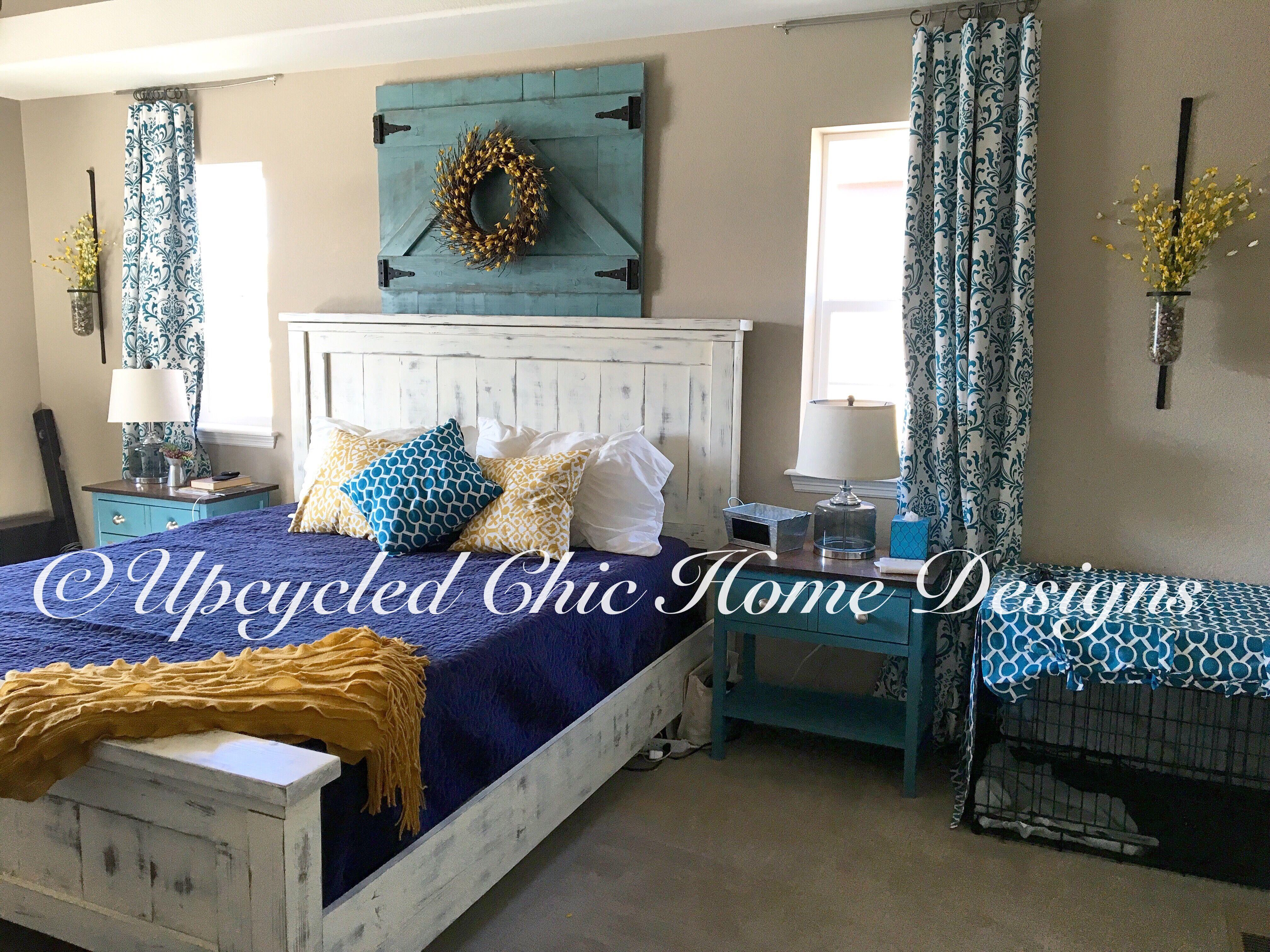 Lieblich Cal King Farmhouse Bed   DIY Projects Selbstgemachte Kopfteile,  Schlafzimmer Büro, Schlafzimmerdeko, Schlafzimmer