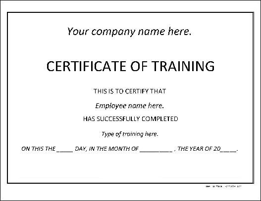 People Need Fake Training Certificates Due To Many Reasons Like