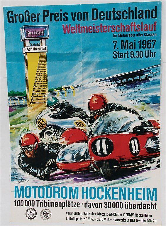 Motodrom Hockenheim - 1967 -