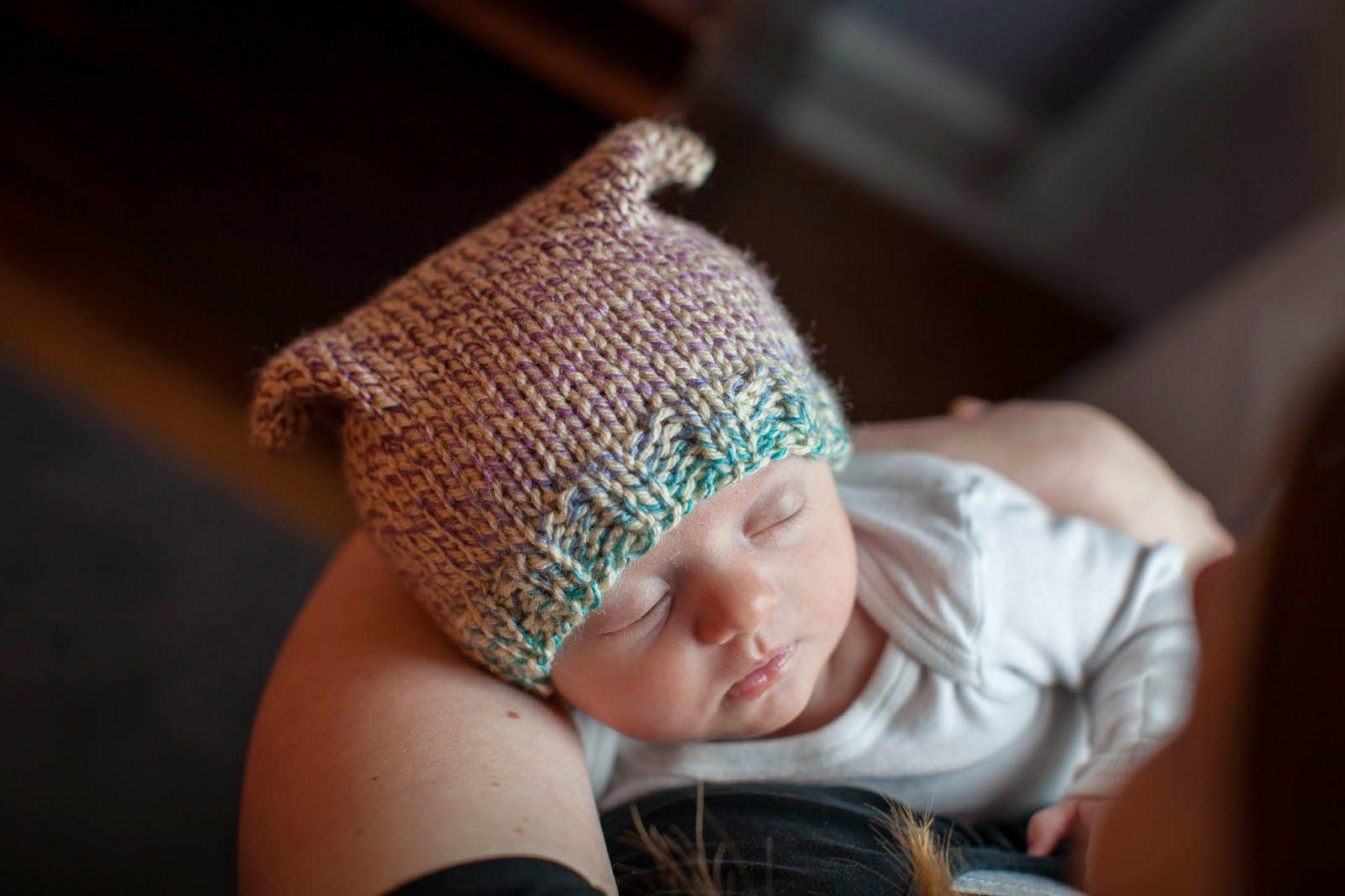 SHE MAKES HATS: Dodge Street Beanie | Baby Knits | Pinterest