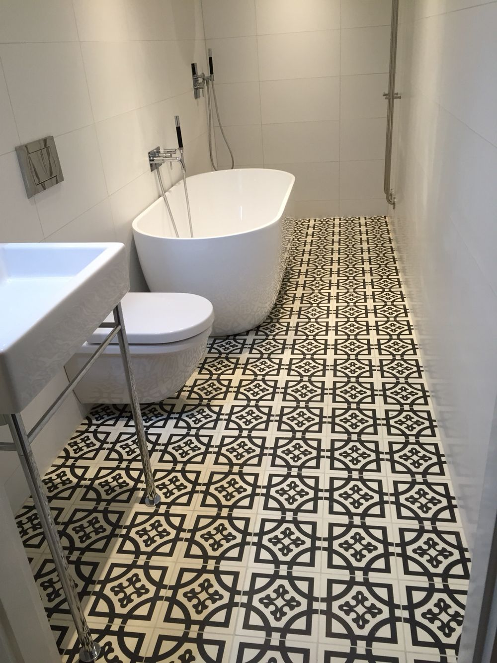 flooring ideas for small bathrooms%0A firedearth duravit Philip starck tapwell sveabad inr swoon  Bathroom InspoSmall  Bathroom IdeasSmall