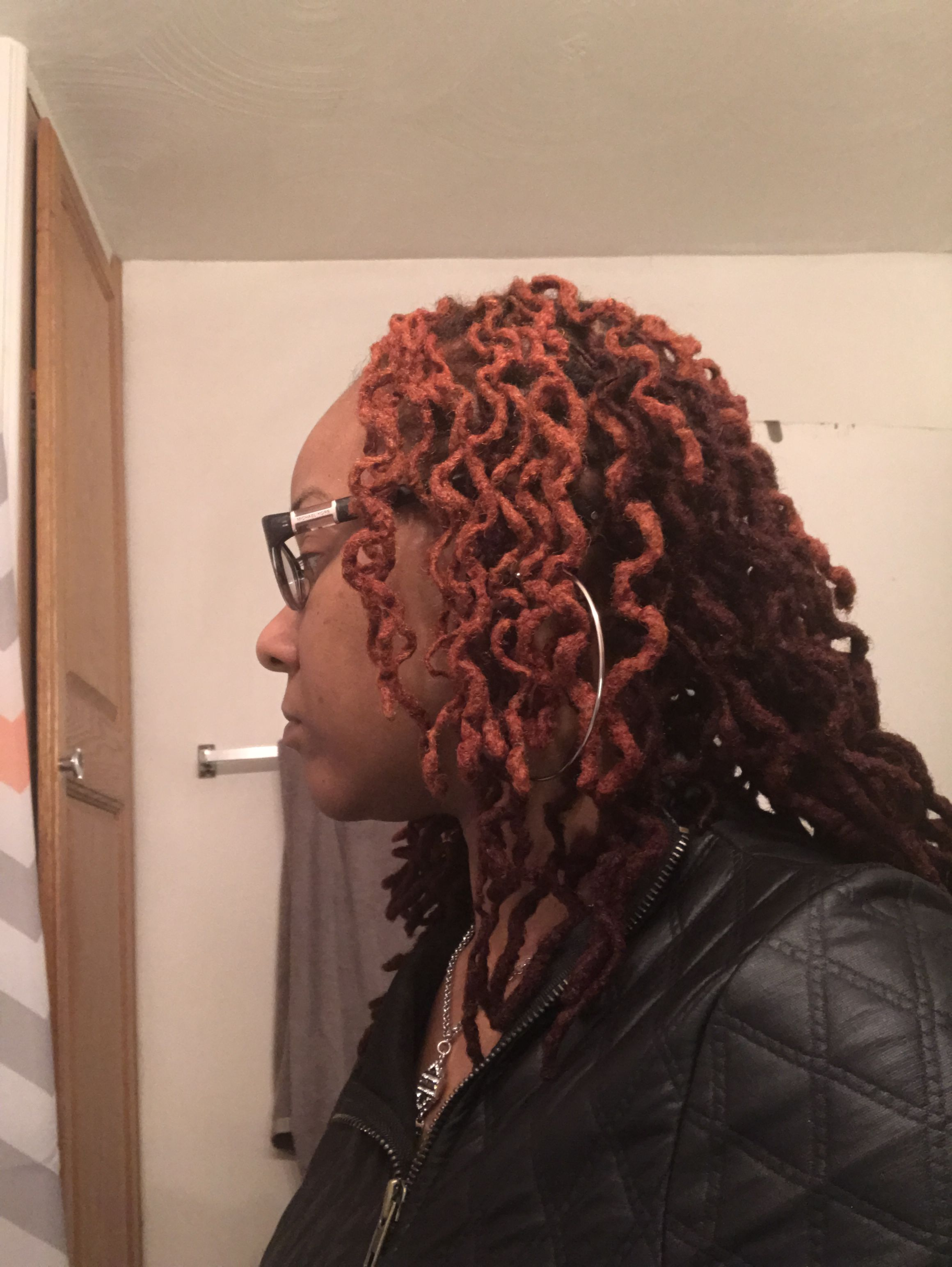 Braid Out And Color By Kimyata At Diamond Hair Salon In