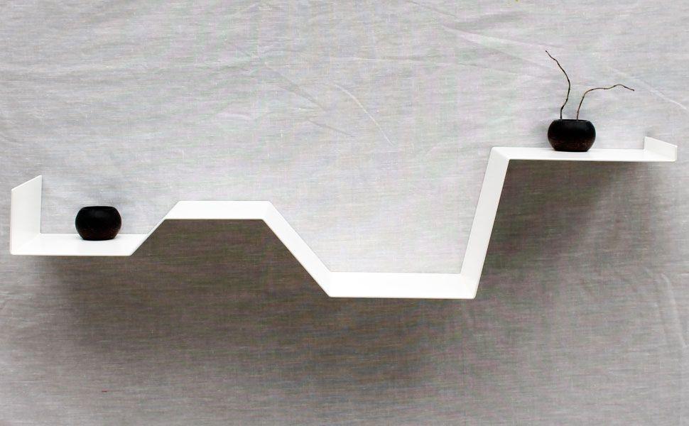 etag re murale zig tag re design blanche etag re. Black Bedroom Furniture Sets. Home Design Ideas