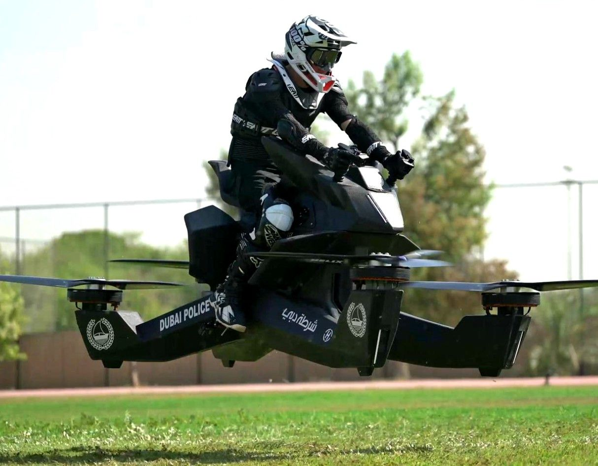 The Dubai Police Will Soon Be Riding Hoverbikes Police
