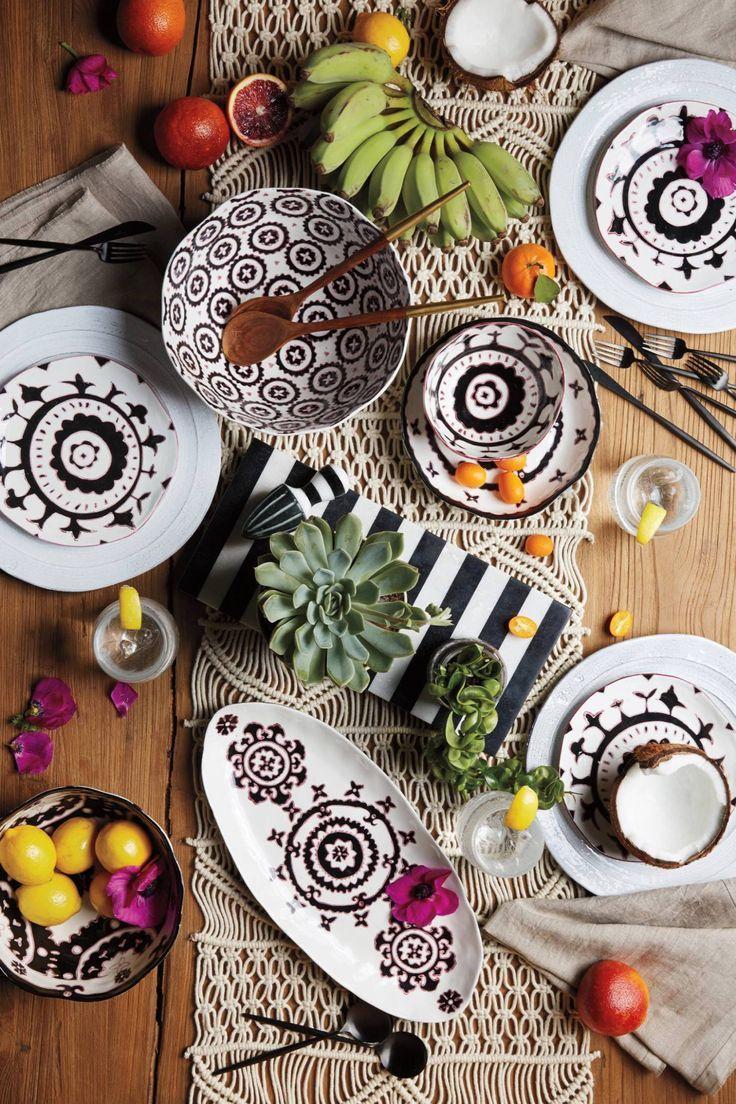 The House Home Summer Lookbook Topista Decor Plates Tableware