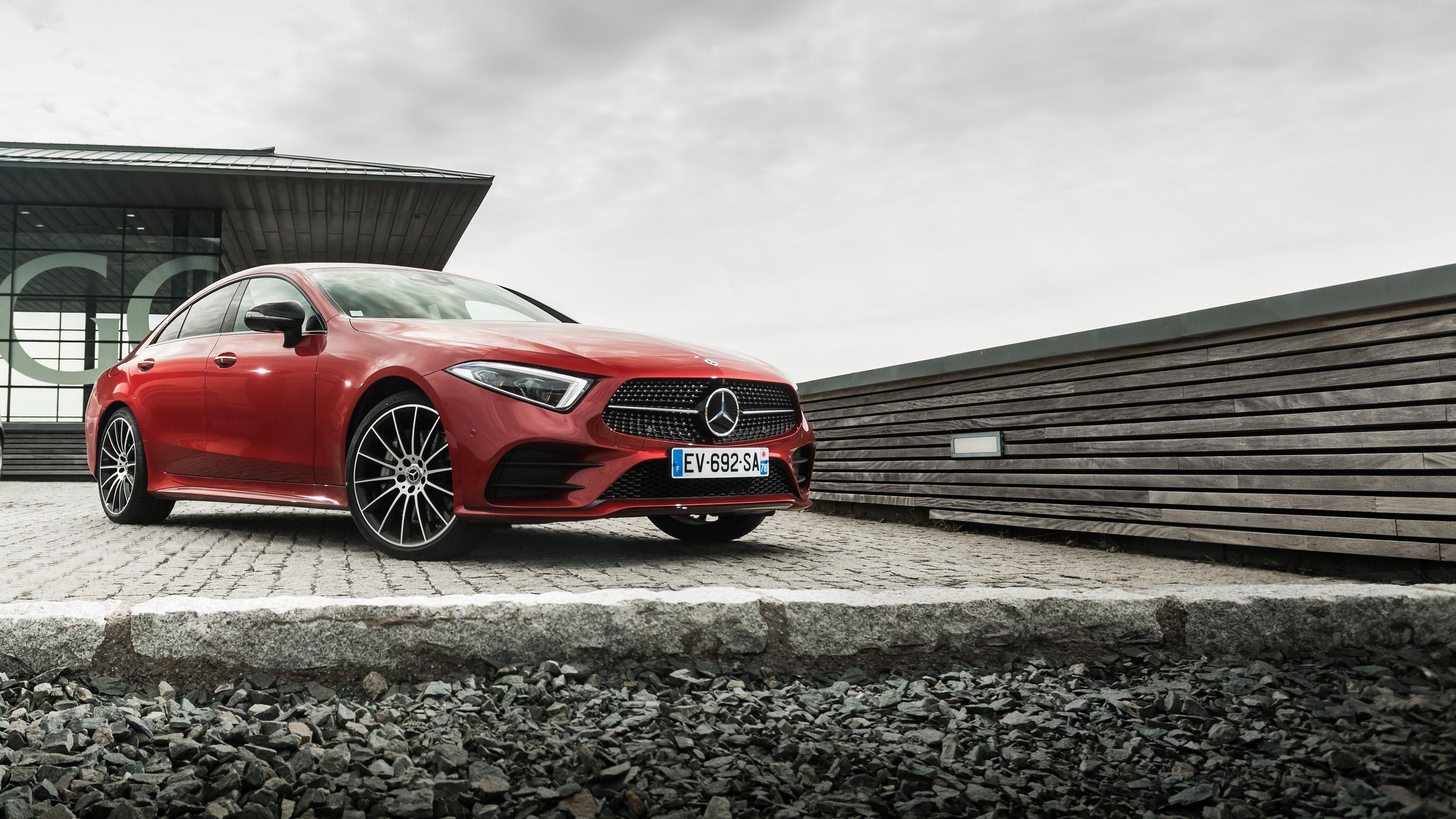 Wallpaper 4k Mercedes Benz Cls 400 D 4matic Amg 2018 Cars