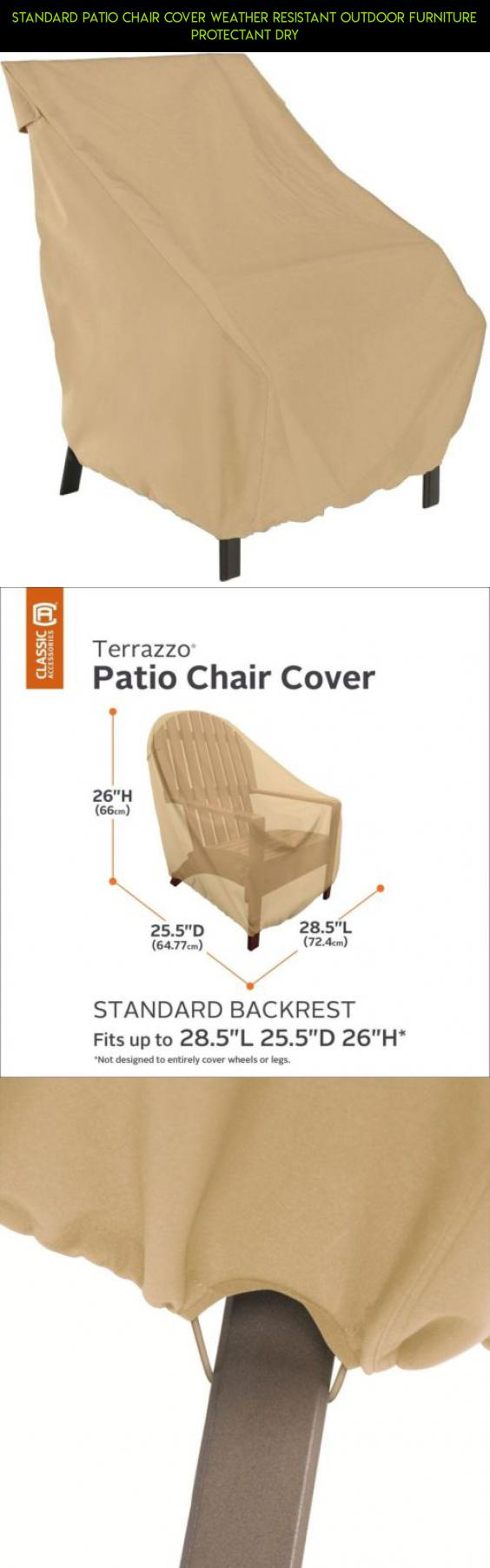 Exceptionnel Standard Patio Chair Cover Weather Resistant Outdoor Furniture Protectant  Dry #plans #tech #drone