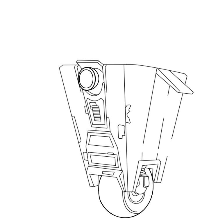 Borderlands Claptrap Coloring Pages by Lori | Coloring pages ...