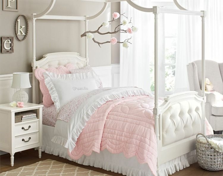 88 id es cool de d co chambre enfant au charme r tro baldaquin dans la chambre et layette. Black Bedroom Furniture Sets. Home Design Ideas
