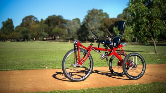 Trivek Leaning Trike Lets Riders Sit Back And Sit Tall Tricycle