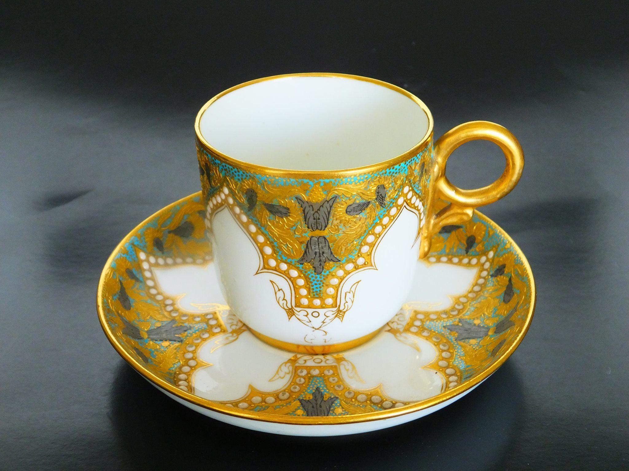 Royal Worcester UK for Davis Collamore & Co. NY 1883 (Kazumi ...