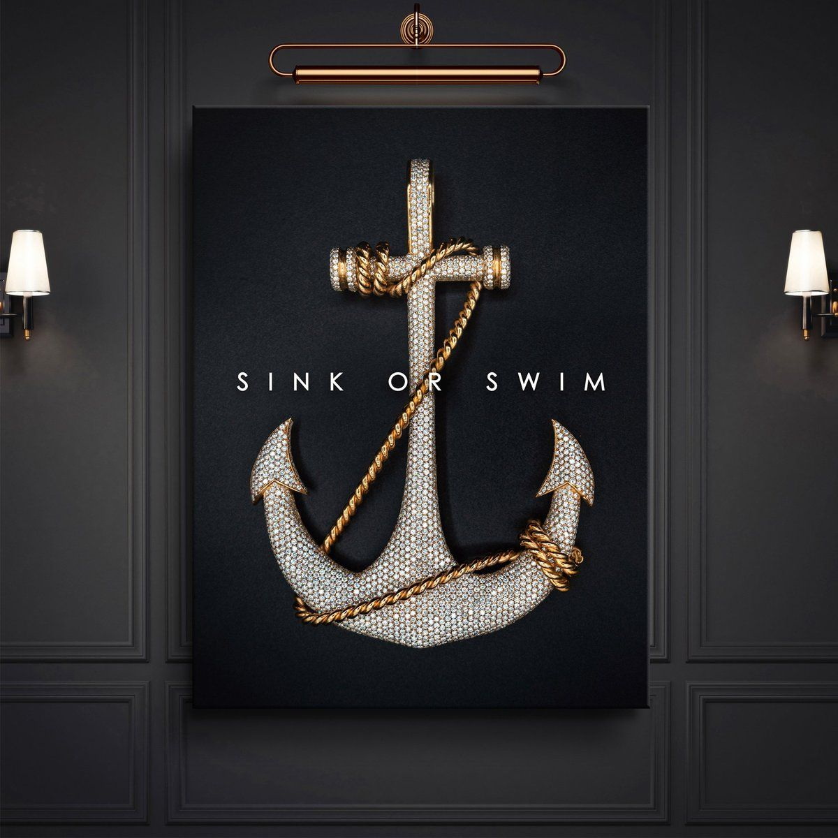 Pin By Moriah Ritchie On Life Tips Sink Or Swim Canvas Set Big Canvas Art
