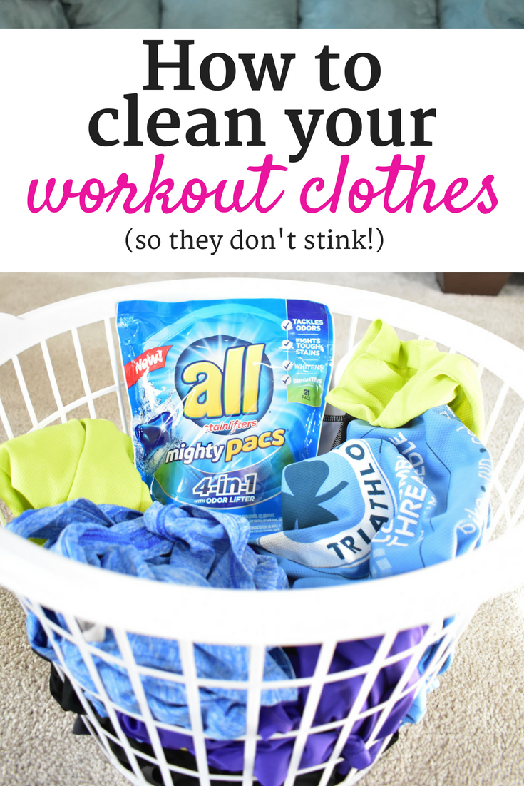 How To Get Rid Of The Sweat Smell On Your Workout Clothes