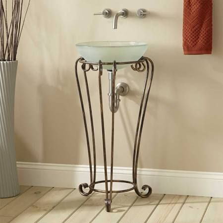 Wrought Iron Pedestal Sink Stands Google Search