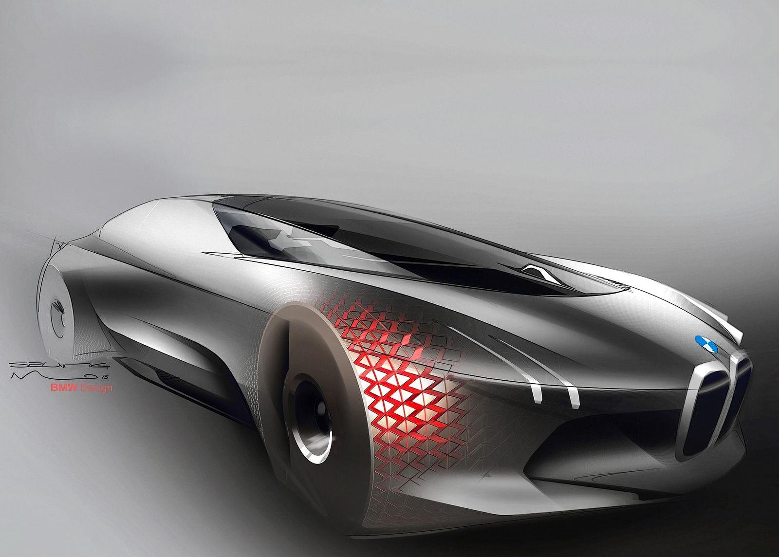 BMW New Car >> New Car Bmw Vision Next 100 Concept Car Design News