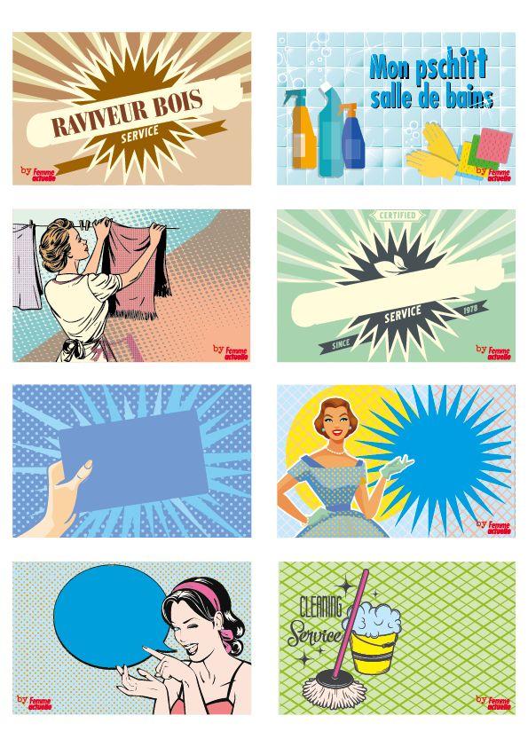 Etiquettes Gratuites à Imprimer Pour Vos Produits Ménagers