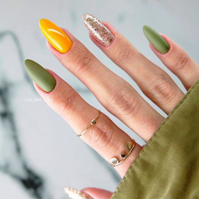 65 Must Try Fall Nail Designs And Ideas Fall Nail Designs Nail Designs Fall Acrylic Fall Nail Colors
