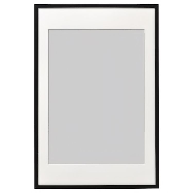 Ribba Frame Black 24x35 Ribba Frame Ikea Frames Frames On Wall