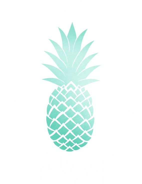 photo regarding Pineapple Template Printable referred to as Pineapple Decal, Pineapple Sticker, Pineapple Solutions inside of