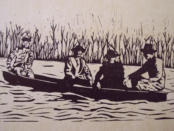 Cumberland River Drawing