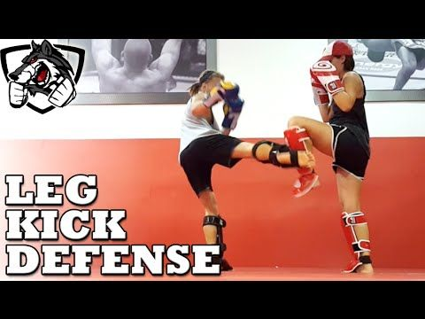 How To Block Low Kicks & Break Opponent's Shins