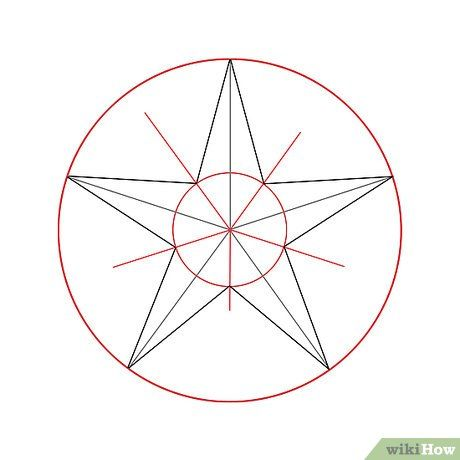 How To Draw A Nautical Star 6 Steps With Pictures Wikihow Nautical Star Nautical Drawing Drawing Stars