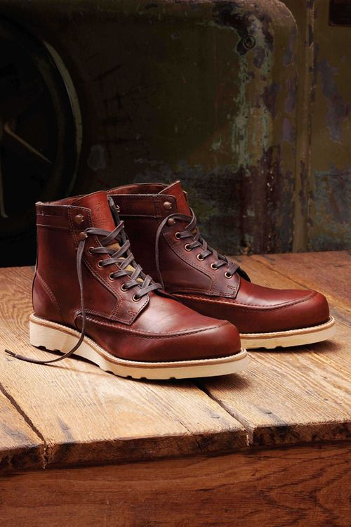 b9ac6f0f386 Filson x Wolverine 2012 Fall Collection moc-toed style. The 6 ...