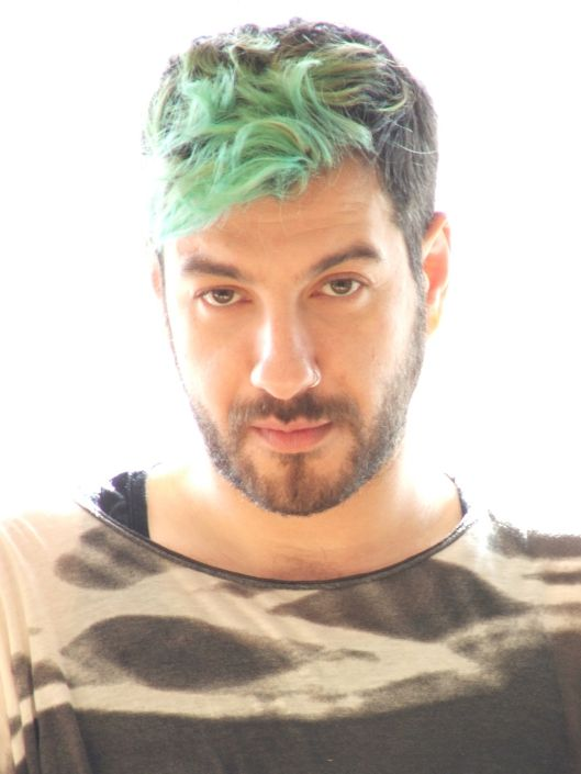 2014 light green hair men hair pinterest green hair