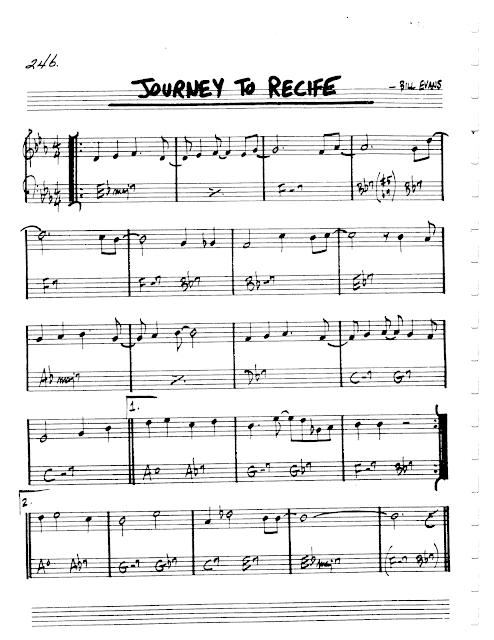 Jazz Realbook I Page 246 Journey To Recife Bill Evans