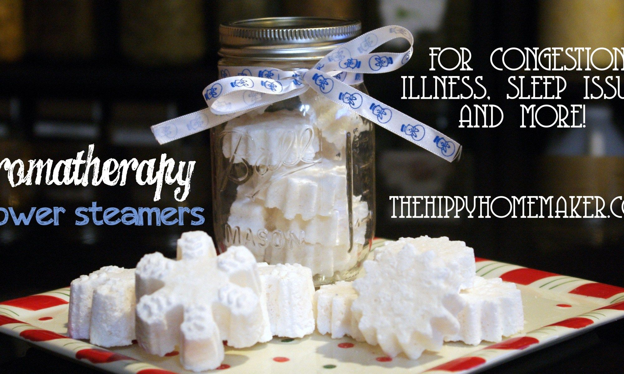 Diy aromatherapy shower steamers the hippy homemaker