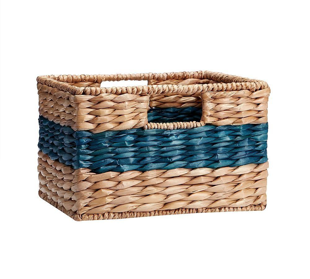 Savannah Color Striped Utility Baskets Basket Basket Weaving