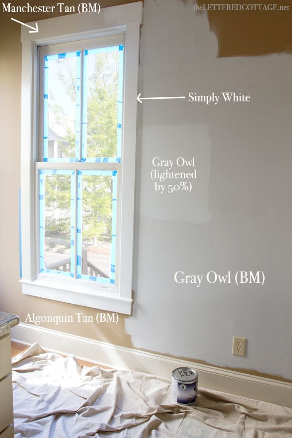Colour review benjamin moore gray owl light grey paint for Benjamin moore paint review