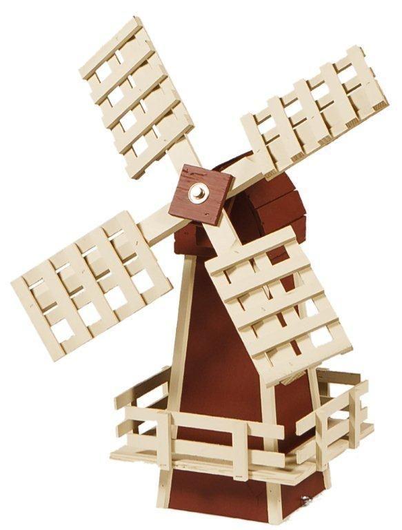 Amish Made Ornamental Dutch Windmill Lawn Decor   Small