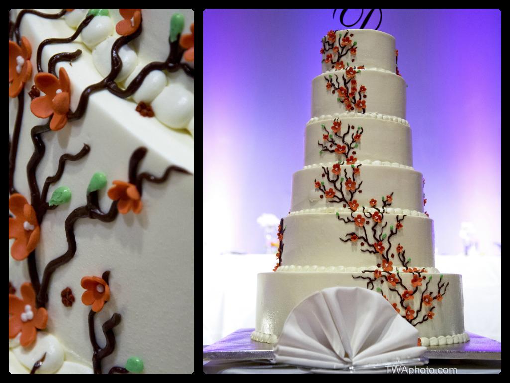 Mehndi Cake Toppers : Perfect cake for a fall wedding twaphoto weddingcake