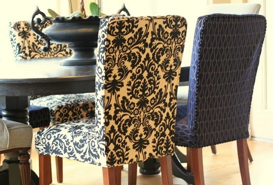 Custom Fabric Seat Covers For Dining Room Chair Dining Room