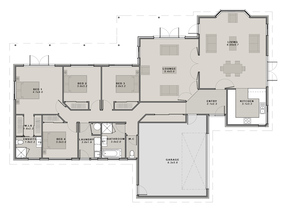 The Oxford Floor Plan New Home Builders House Plans Home Builders