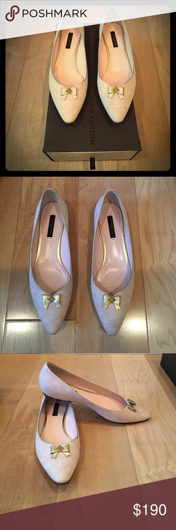 9f2591dc247d Ballet flat · Angelique Ballerina Monogram Flats Light Pink Ballet Flats  Louis Vuitton Shoes ...