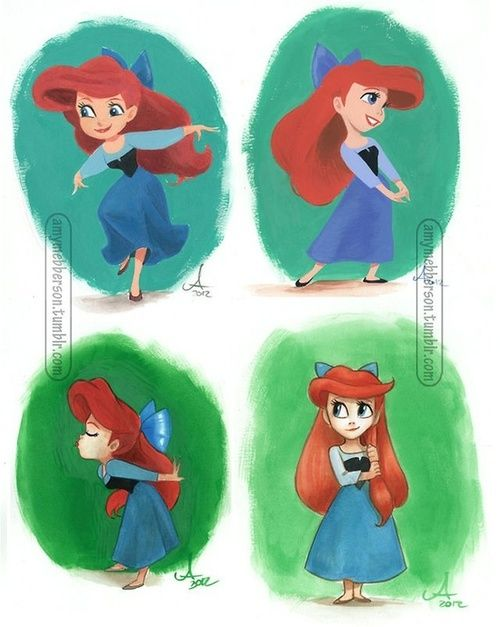 Disney Princess / Ariel- by pocket princess #pocketprincesses
